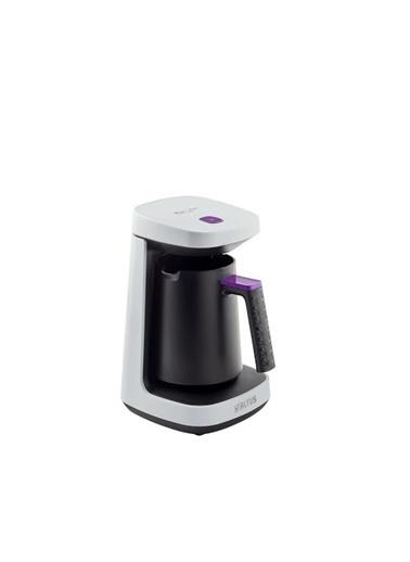 Altus AL 797 B Beyaz 4 Fincan Türk Kahve Makinesi Beyaz
